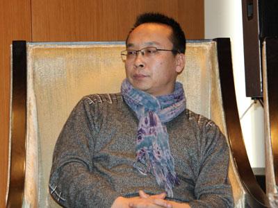 图文:北京宋庄艺术促进会秘书长曹维