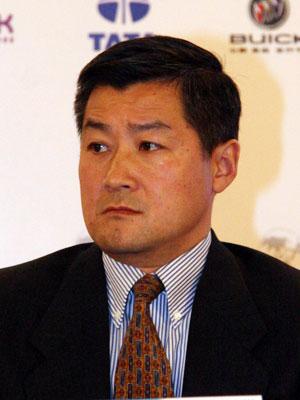 图文:塔塔集团中国区总裁詹宏钰