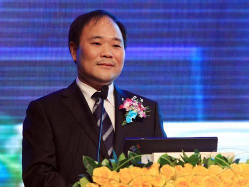 吉利控股集团创始人兼董事长李书福(来源:新浪财经 陈鑫 摄)