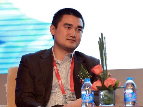 内蒙古永业集团首席财务官喻越(来源:新浪财经 陈鑫 摄)