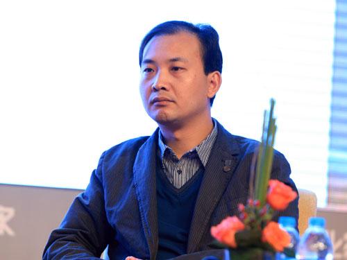 北京壹人壹本信息科技有限公司总裁蒋宇飞(来源:新浪财经 陈鑫 摄)