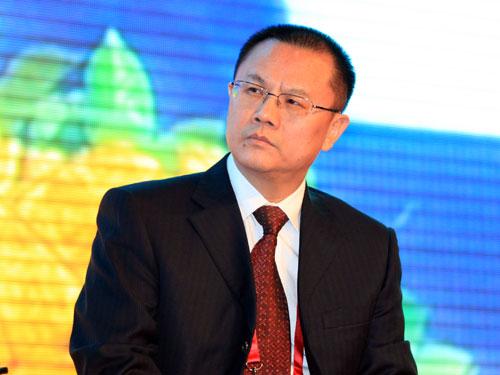 联想控股有限公司副总裁唐旭东(来源:新浪财经 陈鑫 摄)