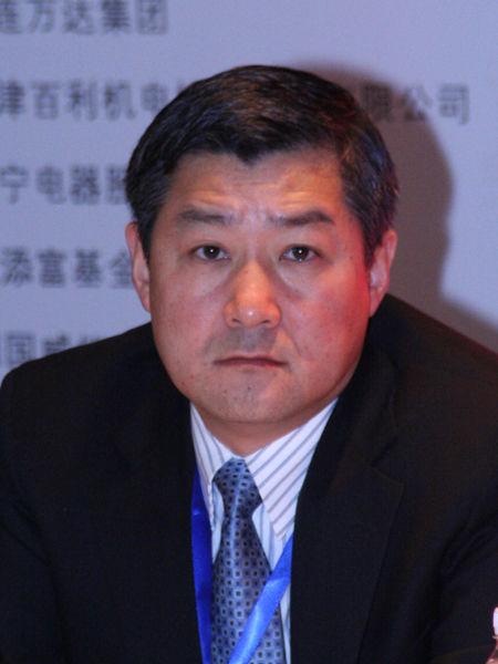 """""""第十一届中国年度管理大会""""于2011年12月2日在北京召开。上图为塔塔集团中国区总裁詹宏钰。(图片来源:新浪财经)"""