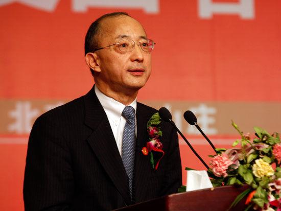 美国铝业公司亚太区总裁陈锦亚(新浪财经 陈鑫 摄)