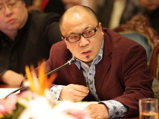 杭州金海岸文化发展股份有限公司副总经理程翔(来源:新浪财经)