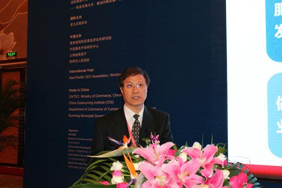 商务部研究院国际服务贸易研究所所长李钢(图片来源:新浪财经)