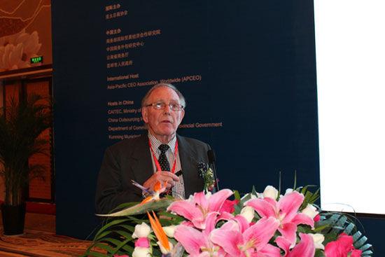 资源发展有限公司董事总经理大卫-那图齐(图片来源:新浪财经)