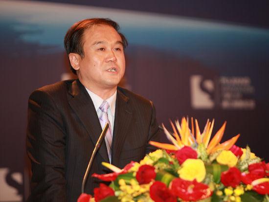 """由国家科学技术部和上海市政府共同主办的""""2012浦江创新论坛""""于11月2日-3日在上海召开。上图为合肥市委常委、副市长韩冰。(图片来源:新浪财经 梁斌 摄)"""