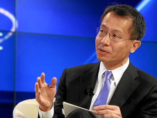 图文:国际金融公司(ifc)首席执行官蔡金勇