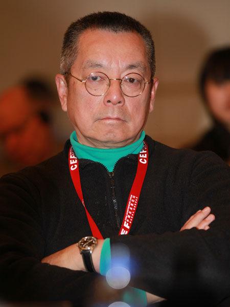 """""""2014亚布力中国企业家论坛第十四届年会""""于2月11日-14日举行。上图为香港科技大学副校长翁以登。(图片来源:新浪财经 梁斌 摄)"""