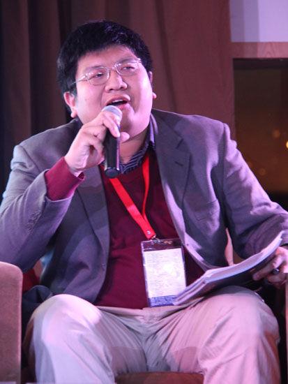 图为:PEER毅恒挚友刘泓。(图片来源:新浪财经 金霞 摄)