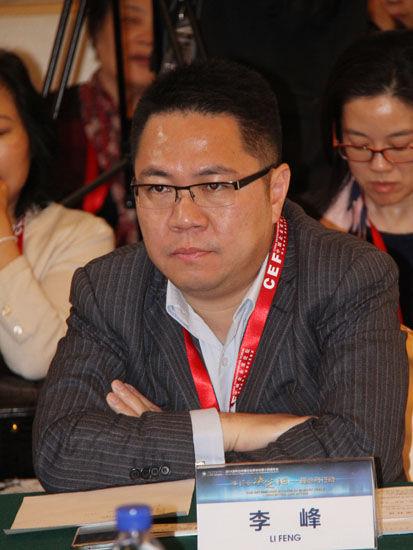 图为:嘉定区国资公司总经理李峰。(图片来源:新浪财经 骆霄 摄)