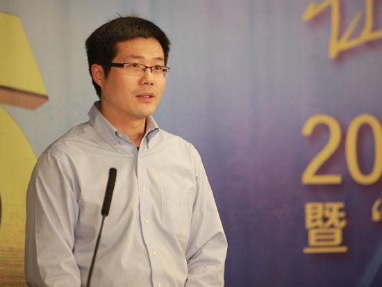 图为腾讯公司公关策划总监何华峰图片