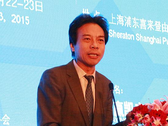 上图为微创中国董事长唐骏(图片来源:新浪财经 顾国爱 摄)