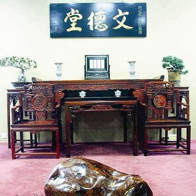 武汉收藏品市场家具标价两千万