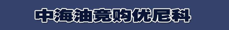 中海油竞购优尼科