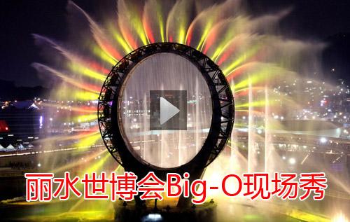 丽水世博会Big-O现场秀