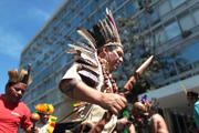 巴原住民要求提高医保占据卫生部