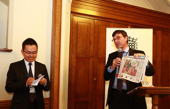 中国企业家英国行第七日:上议院参访