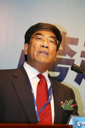 图文:中国海洋石油总公司总经理傅成玉