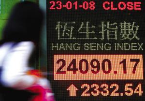 深指创历史第二大点数涨幅 恒指创两纪录_股市