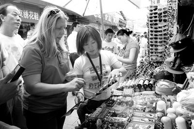 [图文]中国特色商品和民间工艺品深受青睐_滚