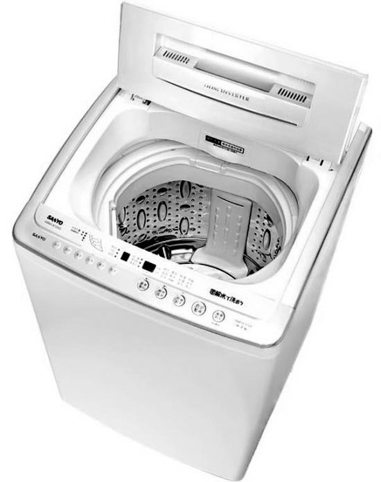 三洋变频波轮洗衣机 开创节能静音新时代