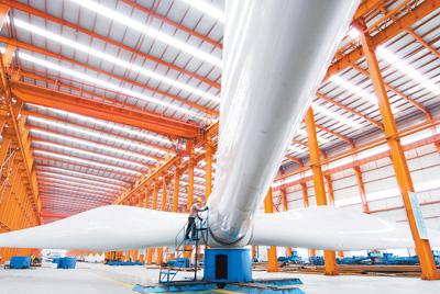 长星集团大型风力发电机组将出口欧洲