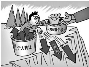 个人转让限售股须缴所得税_滚动新闻