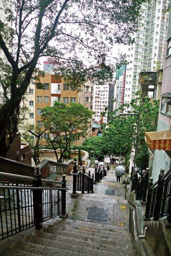 香港:没有被偷的永利街(组图)