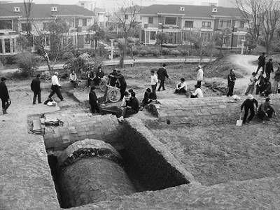 南京将军山明朝古墓群因建豪华别墅遭破坏(图)