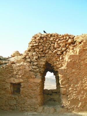 马萨达:犹太人反抗罗马人的最后堡垒(图)