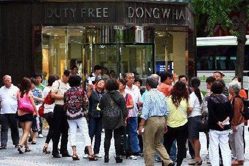 景点饮食不占优势 韩研究策略吸引中国游客(图)