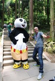 游成都:跟功夫熊猫到青城山添点仙气(图)