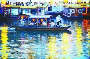 南京:桨声灯影 说画舫(图)