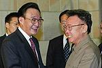 吴邦国:2003年访问朝鲜会晤金正日