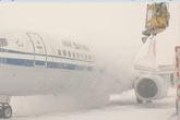 首都国际机场飞机除雪