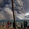 塔乌鲁火山 巴布亚新几内亚 喷发时间:2006年