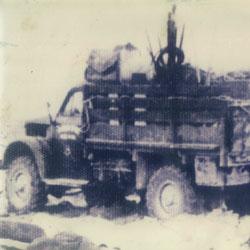 罗布泊观察队的车辆