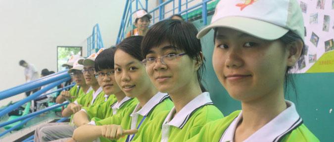 广州亚运会志愿者测试赛