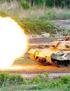 韩国海上火炮实弹射击训练