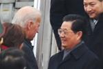 胡锦涛抵达美国