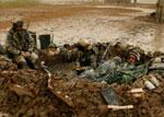 驻伊美军士兵在泥巴中醒来