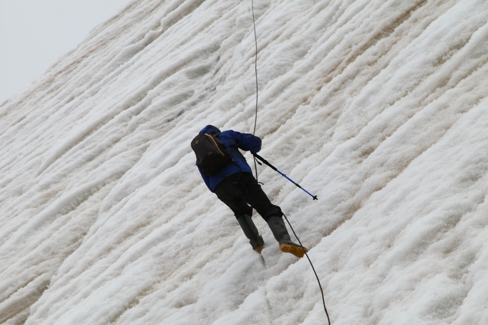 冰川工作是勇敢者的游戏