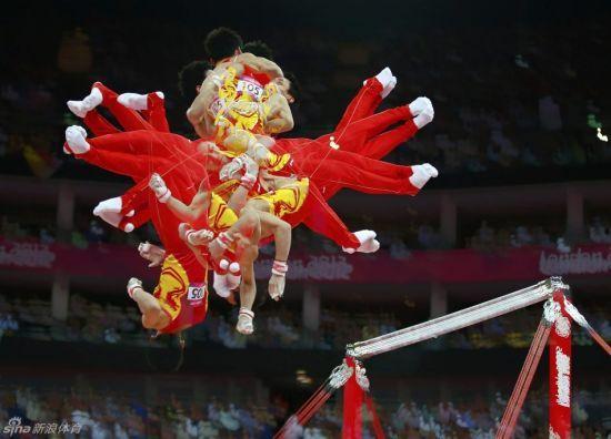 中国体操伦敦再绽放