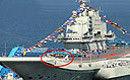 实拍中国航母彩排交船仪式 疑国庆服役