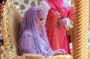 文莱国王苏丹为女儿举办盛大王室婚礼