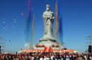 世界最高妈祖圣像在天津落成