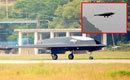 中国利剑隐身无人作战攻击机成功首飞
