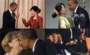 """盘点与奥巴马""""亲密""""接触过的女人"""